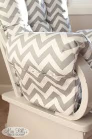 Nursery Rocker Recliner Nursery Rocking Chair Cushions For Nursery Glider Rocking Chair