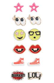 school earrings capelli of new york emoji earrings nordstrom back to school
