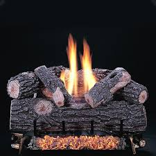 rasmussen 24 inch chillbuster gas log set with vent free natural
