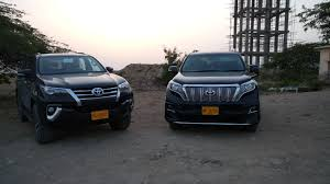toyota fortuner vs lexus toyota fortuner officially launched by imc in pakistan other