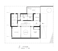 patio house apollo architects associates archdaily floor plan