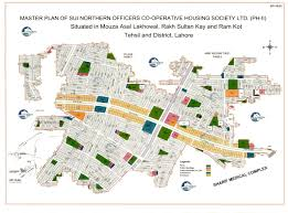 Gas Map Sui Gas Lahore Phase 2 Map
