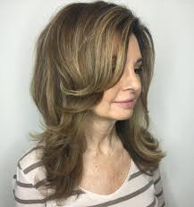 medium layered haircuts over 50 60 most prominent hairstyles for women over 40