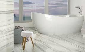 Carrara Marble Floor Tile Marmoker Groove Tile U0026 Stone