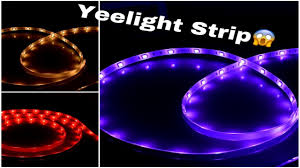 ribbon light xiaomi yeelight smart led ribbon light