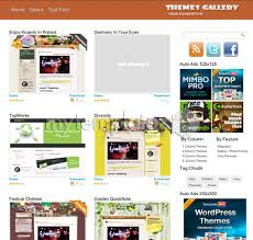 free templates wordpress themes art u0026 photography themes gallery