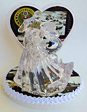 army wedding cake toppers cake topper ebay