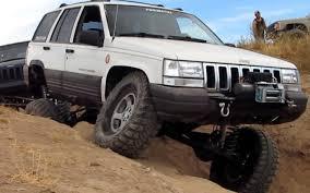 old jeep grand cherokee lifted jeep grand cherokee 4x4 project zj rhd full width xj 5 9 limited