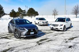 lexus nx vs xc60 comparison test lexus nx200t vs lincoln mkc vs mercedes benz glk