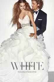 s bridal white by vera wang bridesmaid dresses david s bridal