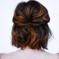 boy wears his hair in an updo 20 great updo styles for short hair half updo updo and short hair