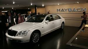 maybach landaulet european debut for maybach landaulet at geneva