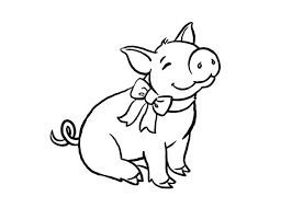 Pig Template Animal Templates Free Premium Templates Pig Coloring Pages