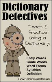dictionary detective center u0026 worksheets 2nd u0026 3rd grade by beth