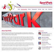 sportpark featured work web design creative and print