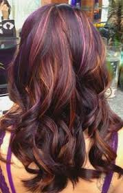 a month in hair colors today multi colored highlights the