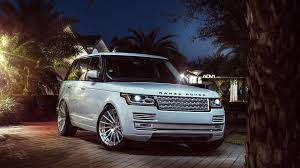 white land rover range rover hse adv15r wallpaper hd car wallpapers