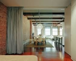 Dividing Doors Living Room by Curtain Room Divider U2013 For Temporary Door Solution Diy Home