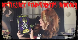 Great Knockers Beetlejuice Head Knockers Unboxing And Review Youtube