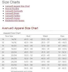 more women u0027s plus size clothing size comparisons