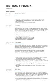 Example Of A Resume For A Highschool Student by Practicum Student Resume Samples Visualcv Resume Samples Database