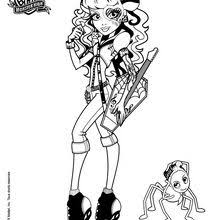 monster high clawdeen wolf coloring pages clawdeen wolf coloring pages hellokids com