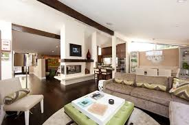 Decorating Ideas For Open Floor Plans Fireplace Niche Decorating Ideas Family Room Contemporary With