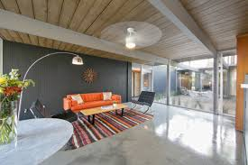 Eichler Style 1960 Joseph Eichler Home With Lava Rock Pool Will It Sell In 11