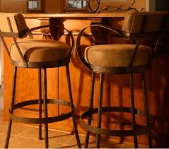 Bar Stool With Back And Arms Iron Bar Stools Iron Counter Stools Swivel Counter Chairs