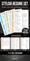 Resume Templates That Stand Out Your Dream Job 15 Clean U0026 Elegant Resume Templates