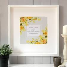 gift for 50th wedding anniversary golden 50th wedding annivesary gifts and ideas