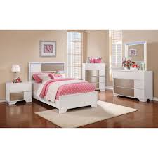 Coaster Furniture Bedroom Sets by Coaster Havering Youth Bedroom Set In Blanco U0026 Sterling Local