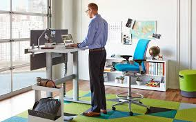 Sit To Stand Desk Maximize Your Benefits From A Sit Stand Desk Office Designs