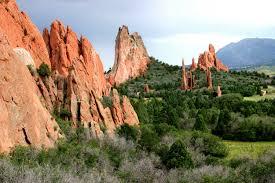 Garden Of The Gods Rock Formations Colorado Springs Garden Of The Gods Activities Colorado