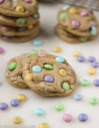 easter cookies soft and chewy m m easter cookies chez cateylou