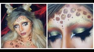 Giraffe Halloween Makeup Giraffe Makeup Halloween Makeup Dehsonae Youtube
