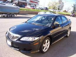 mazda 6 2004 black trends car