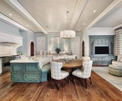 Curved Banquette Kitchen Traditional With London Curved Banquette Seating Deck Contemporary With Bench