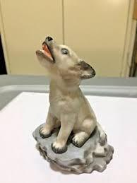gorham serenade gorham arctic serenade baby wolf puppy figurine 1993 ebay