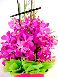 birthday flowers kueh flowers b7 birthday orchids flower arrangement