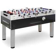 imperial butcher block 55 in foosball table hayneedle