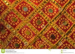 traditional indian fabric with ornaments stock image image 33317961