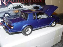2015 Buick Grand National And Gnx 1 18 Scale Gmp G1800222 Gnx Drag Buick Blue