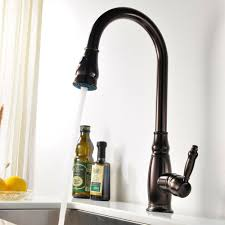 kes brass tall kitchen faucet oil rubbed bronze with pull down