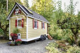 tiny cabin on wheels why not try a tiny house on for size