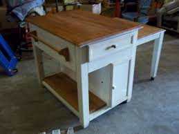 beautiful kitchen island with pull out table including frontier