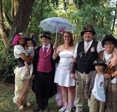 mariage steunk le mariage steunk de magali et ludovic tiamat creations