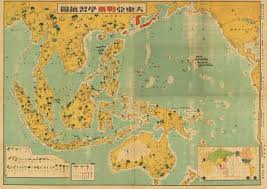 World Map 1940 by Japanese Wwii Pictorial Map Of The Pacific Hjbmaps Com U2013 Hjbmaps