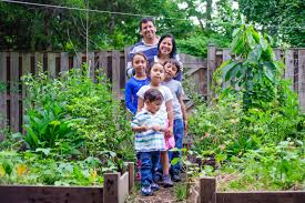 Family In The Garden About Us Permaculture Gardens