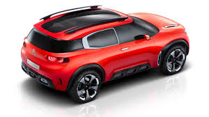 citroen concept 2017 2017 citroën c4 aircross this is the concept car youtube